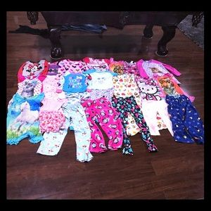 Other - Pajama Party Bundle 🎈 Girls Size Small! 25 items!